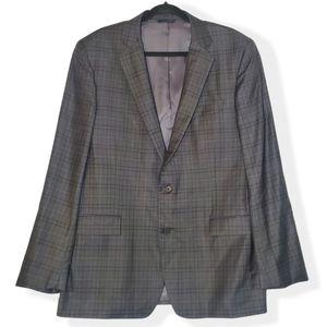 Brooks Brothers Reda Regent Plaid Wool Sport Coat